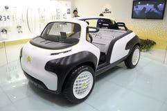 Carro desportivo do conceito de Citroen Lacoste Imagem de Stock