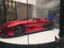 Carro desportivo do futuro do conceito de Nissan Fotografia de Stock