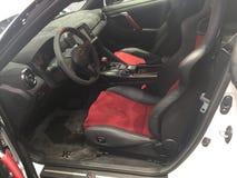 Carro desportivo do futuro do conceito de Nissan imagens de stock royalty free