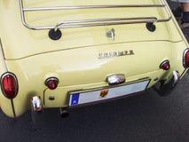 Carro desportivo do vintage fotografia de stock