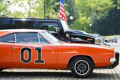 Carro desportivo e do offroaf dos EUA Fotografia de Stock
