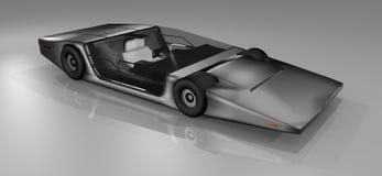 Carro desportivo futuro ilustração royalty free