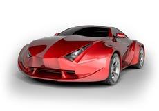 Carro desportivo luxuoso Foto de Stock Royalty Free