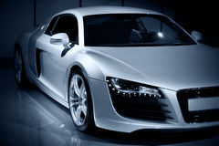 Carro desportivo luxuoso fotografia de stock royalty free