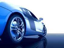 Carro desportivo moderno Foto de Stock