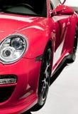 Carro desportivo vermelho Foto de Stock Royalty Free
