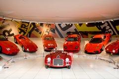 Carro desportivo vermelho Ferrari Fotografia de Stock Royalty Free