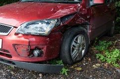 Carro destruído Foto de Stock Royalty Free