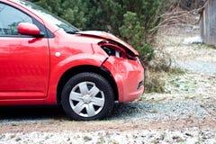 Carro destruído Imagem de Stock Royalty Free