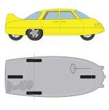 Carro Diamond-shaped Fotografia de Stock Royalty Free