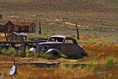 Carro dilapidado - Bodie Imagem de Stock