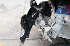 Carro do acidente Fotos de Stock