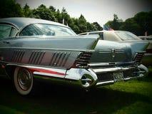 Carro do americano da bandeira dos Estados Unidos Fotos de Stock Royalty Free
