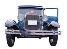 Carro do azul do vintage Foto de Stock Royalty Free