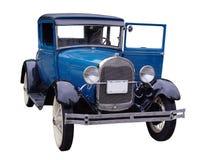 Carro do azul do vintage Imagens de Stock Royalty Free