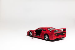 Carro do brinquedo Fotografia de Stock Royalty Free