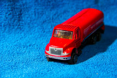 Carro do brinquedo Fotos de Stock Royalty Free