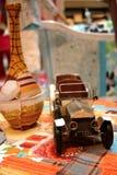 Carro do brinquedo do vintage   Fotos de Stock