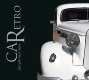 Carro do casamento Fotos de Stock Royalty Free