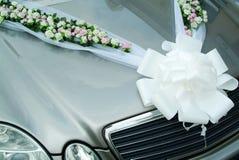 Carro do casamento imagem de stock royalty free