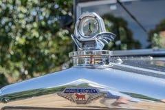 Carro do clássico do calibre do radiador de Morris Cowley imagens de stock