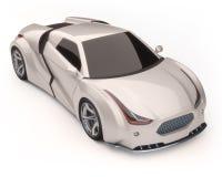 carro do conceito 3d Imagem de Stock
