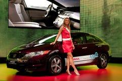 Carro do conceito da claridade de Honda FCX Imagem de Stock
