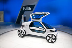 Carro do conceito da VW NILS de Volkswagen em IAA 2011 Foto de Stock