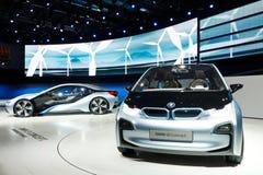 Carro do conceito de BMW i3 Fotografia de Stock