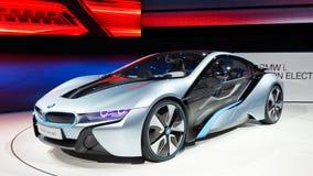 Carro do conceito de BMW i8 imagem de stock