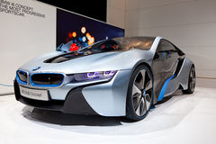 Carro do conceito de BMW i8 Fotos de Stock Royalty Free