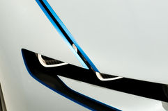 Carro do conceito de EfficientDynamics da visão de BMW, detalhe Imagens de Stock