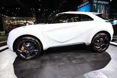 Carro do conceito de Hyundai fotos de stock