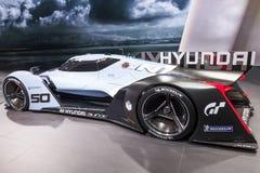 Carro do conceito de Hyundai Muroc no IAA 2015 Imagens de Stock Royalty Free