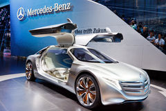 Carro do conceito de Mercedes-Benz F125 Fotografia de Stock Royalty Free