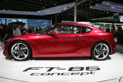 Carro do conceito de Toyota ft 86 Foto de Stock Royalty Free