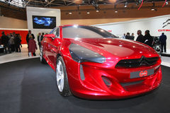 Carro do conceito (salão de beleza de de l'automobile Lyon) Foto de Stock Royalty Free