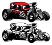 Carro do costume de Hotrod ilustração royalty free