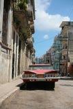Carro do cubano do vintage imagem de stock