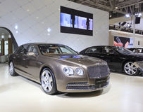 Carro do dente reto w12 do voo de Bentley Foto de Stock