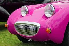 Carro do duende do frogeye do rosa de Barbie foto de stock royalty free