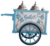 Carro do gelado Fotos de Stock Royalty Free
