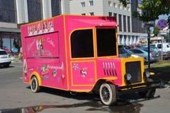 Carro do gelado Foto de Stock Royalty Free