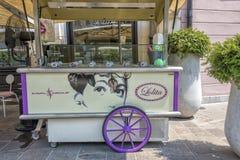 Carro do gelado Imagem de Stock Royalty Free