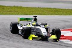 Carro do GP de Brasil A1 da equipe Foto de Stock Royalty Free