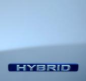 Carro do híbrido de Eco Fotografia de Stock Royalty Free