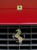 Carro do logotipo de Ferrari Imagem de Stock Royalty Free