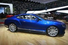 Carro do luxo de Bentley Imagem de Stock Royalty Free