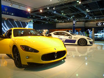 Carro do luxo de Maserati Fotografia de Stock Royalty Free