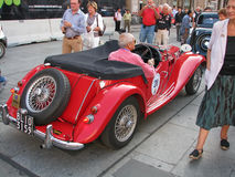 Carro do magnésio do vintage Imagens de Stock